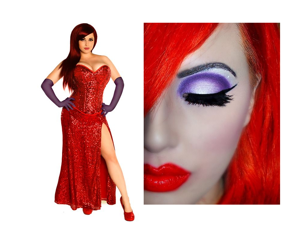 Jessica Rabbit Costume Idea