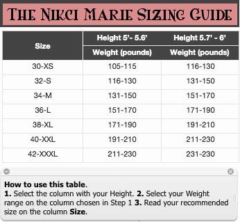 The-Nicki-Marie-Sizing-Chart