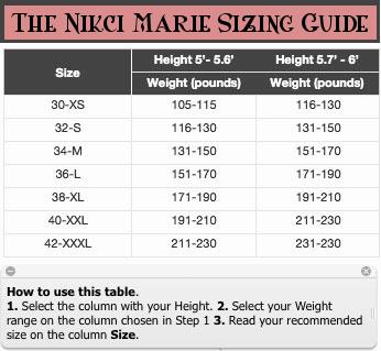 The-Nicki-Marie-Sizing-Chart